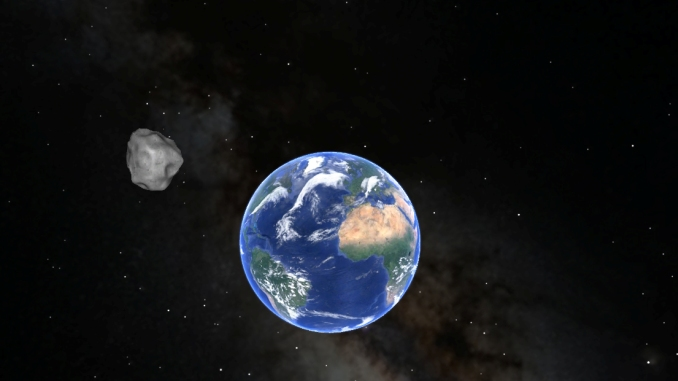 1.7 Mile Asteroid To Flyby Earth