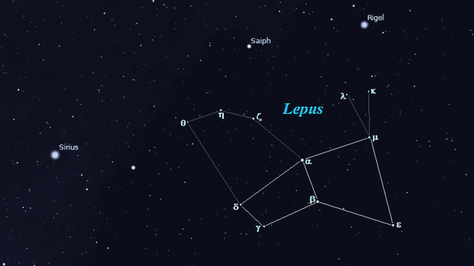 Star Constellation Facts: Lepus