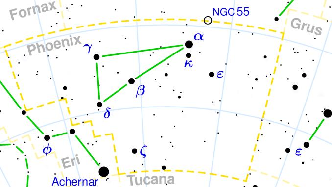 Star Constellation Facts: Phoenix