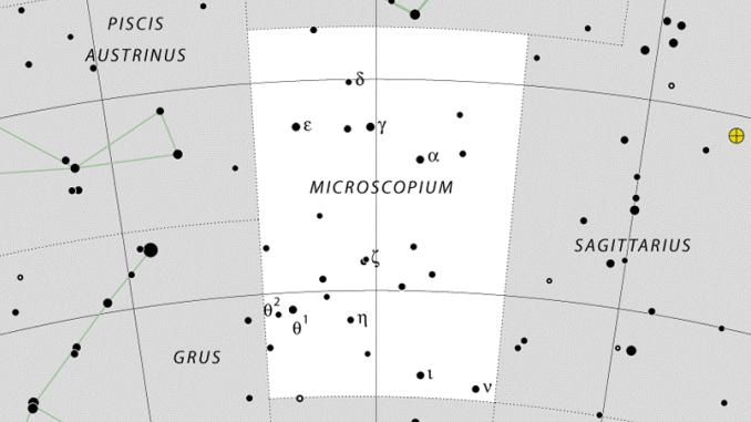 Microscopium Constellation