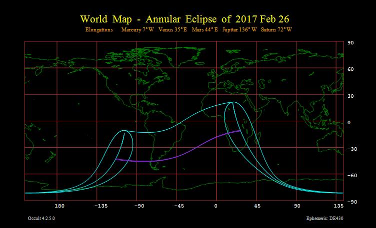 eclipse anular del sol 26 febrero