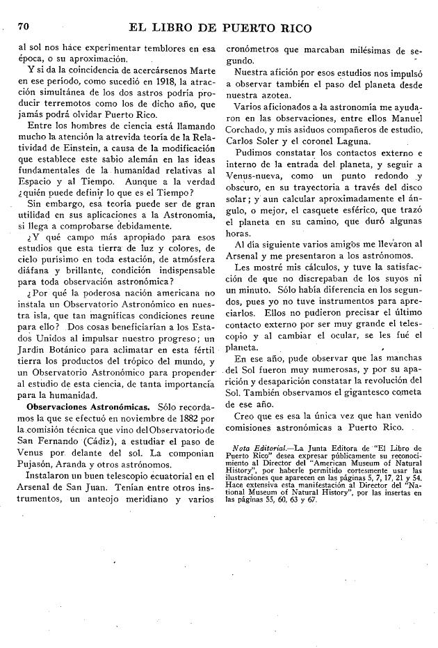 El cielo de Puerto Rico, p. 70