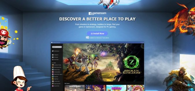 Facebook Gameroom gaming platform launched Facebook has launched its new gaming platform called Facebook Gameroom   formerly known as Facebook Games Arcade  The new platform is currently only