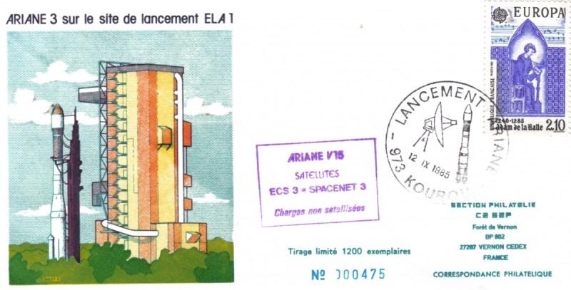 A015 - Vol 15 du 12 Septembre 1985