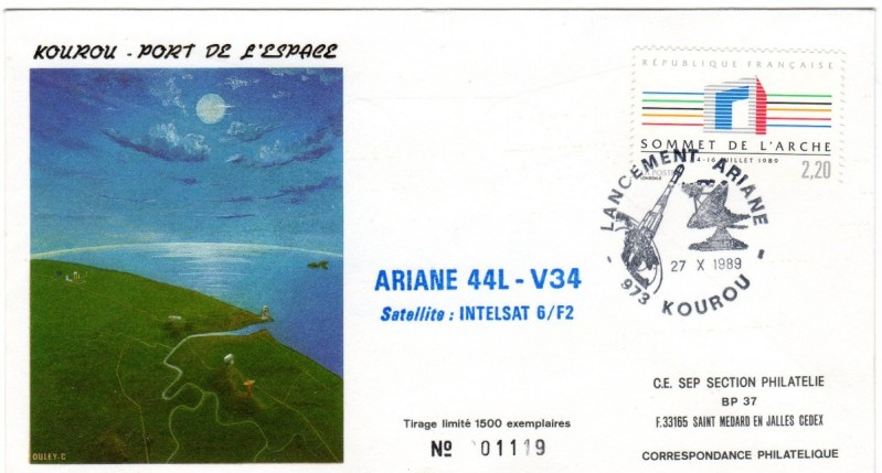 A034 - Vol 34 du 27 Octobre 1989