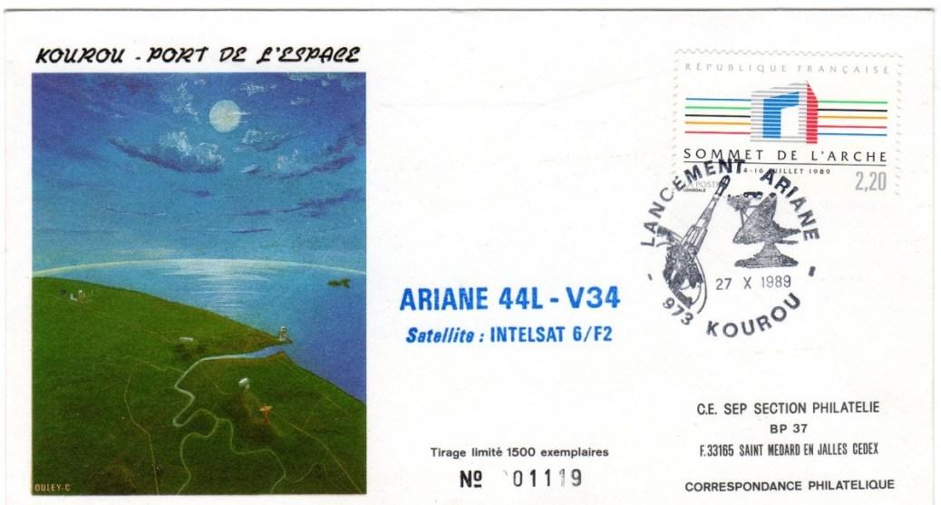 A034 - Vol 34 du 27 Octobre 1989