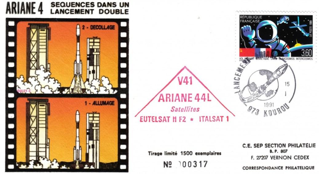A041 - Vol 41 du 15 Janvier 1991