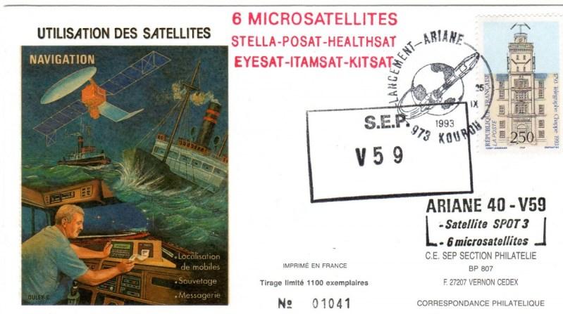 A059 - Vol 59 du 25 Septembre 1993