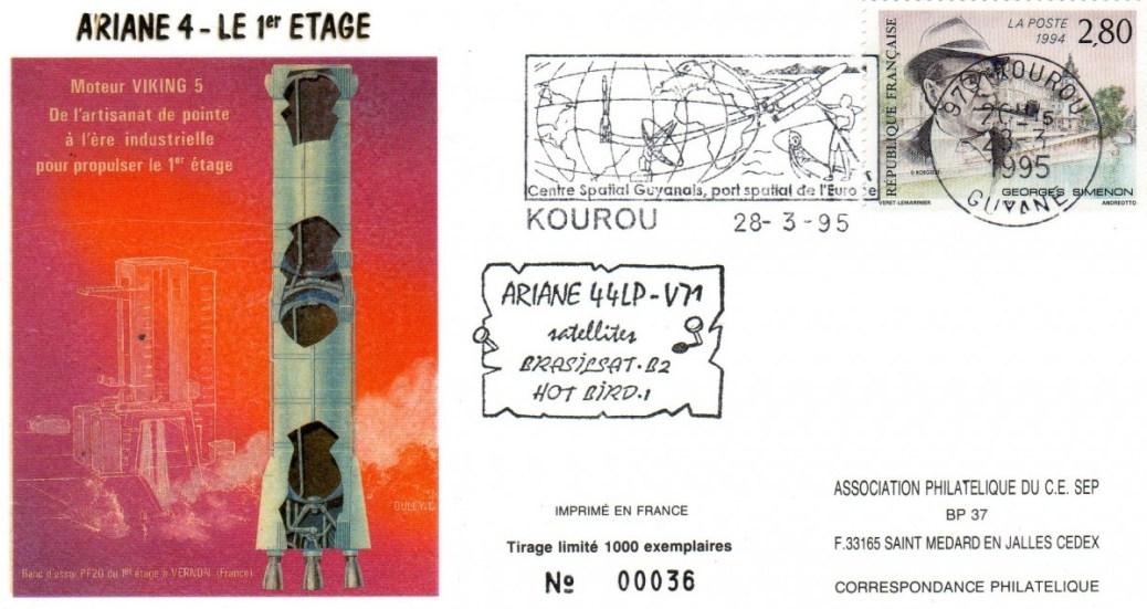 A071 - Vol 71 du 28 Mars 1995