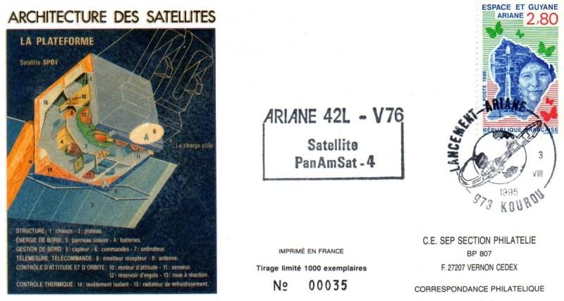 A076 - Vol 76 du 03 Aout 1995