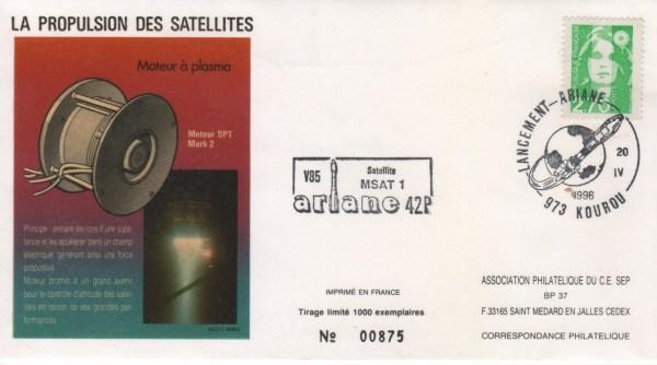 A085 - Vol 85 du 20 Avril 1996