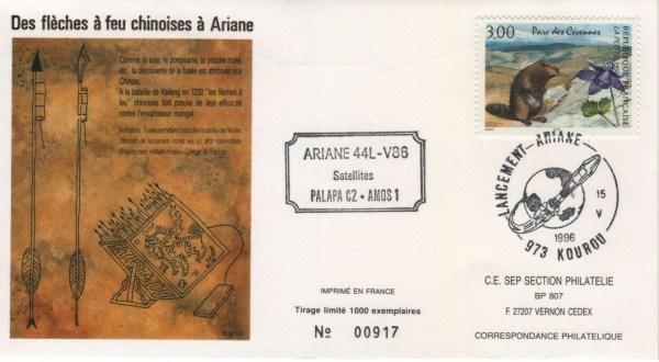 A086 - Vol 86 du 15 Mai 1996