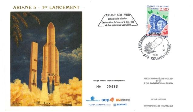 A088 1 - Vol 88 du 04 Juin 1996 - Première Ariane 5