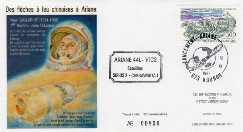 A102 - Vol 102 du 12 Novembre 1997