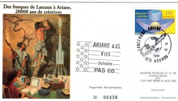 A115 - Vol 115 du 21 Décembre 1998
