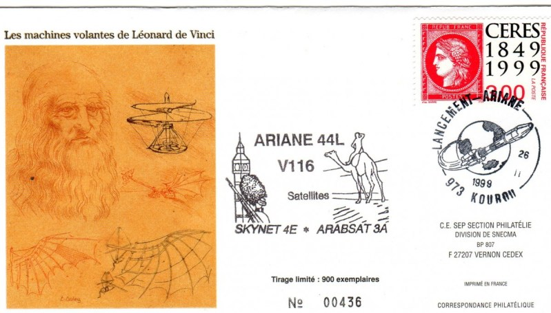 A116 - Vol 116 du 26 Février 1999
