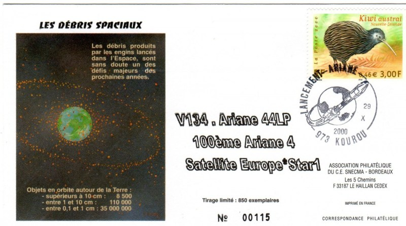 A134 - Vol 134 du 29 Octobre 2000
