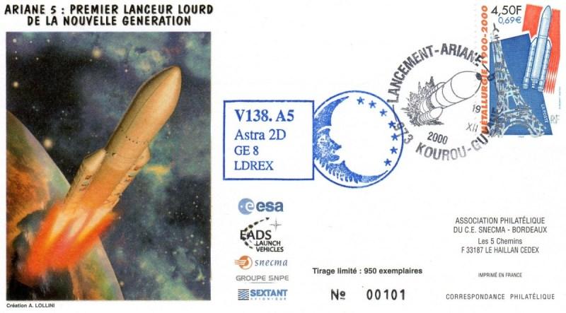 A138 - Vol 138 du 19 Décembre 2000