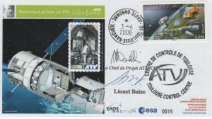 """A181 6 300x168 - Vol 181 - 03 Avril 2008 - ATV 1 """"Jules VERNE"""" est amarré à la Station Spatiale Internationale"""