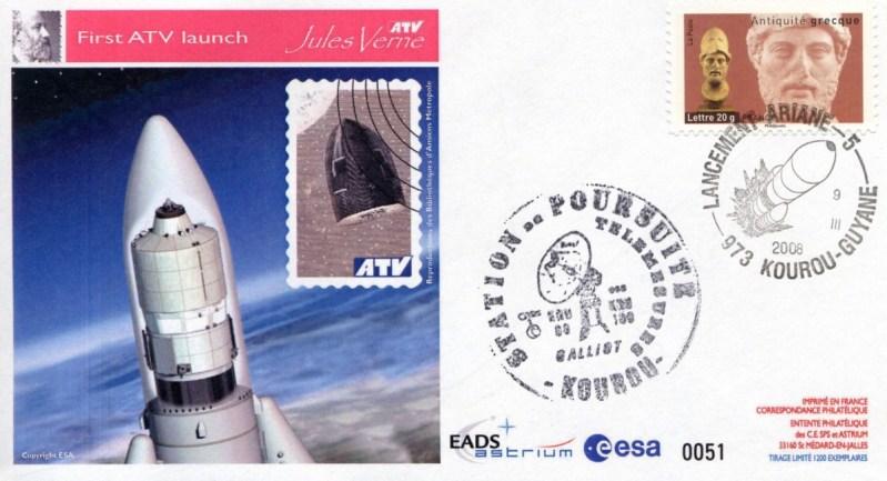 ATV1 KRU2 20080309 - Vol 181 - 09 Mars 2008 - Station de poursuite Galliot - Kourou