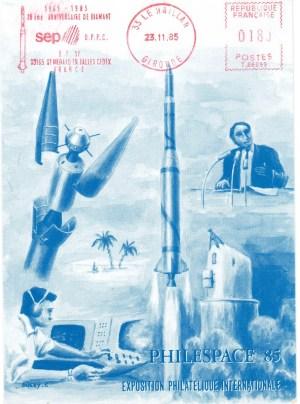 DC002 1 - Document - 23 Novembre 1985 - Exposition Philespace 85 - SEP