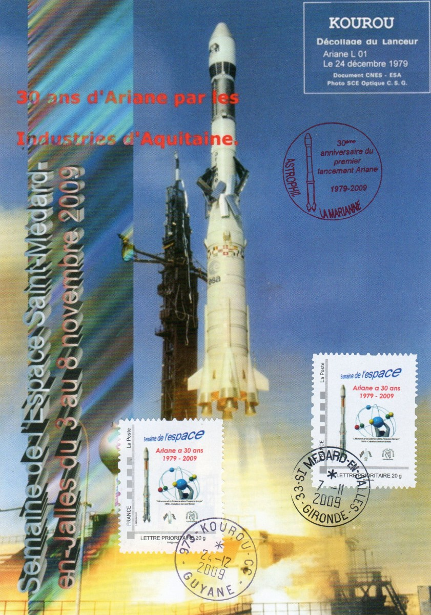 DC005 1 - Document - Ariane - 07 Novembre 2009 Semaine de l'espace - 30ème anniversaire Ariane