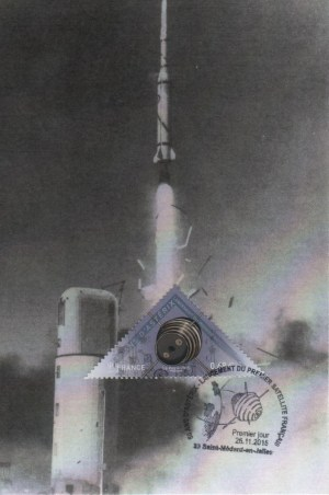DC007 2 - Document - 26 Novembre 2015 Cinquantenaire du premier lancement d'un satellite Français ASTERIX