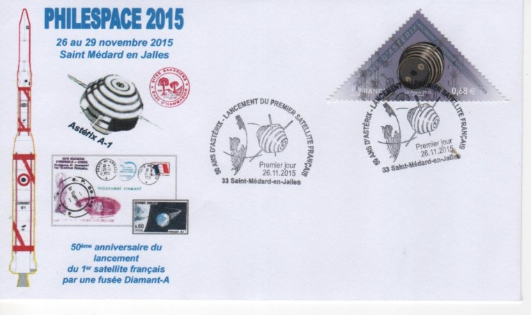 DC007 3 - Document - 26 Novembre 2015 - 50 ans du lancement d'Astérix - Salon PHILESPACE 2015