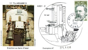 DD008 - Développement Ariane 3 - 11 Janvier 1983 Campagne d'Essais Étage Drakkar - Essai A3G1-2