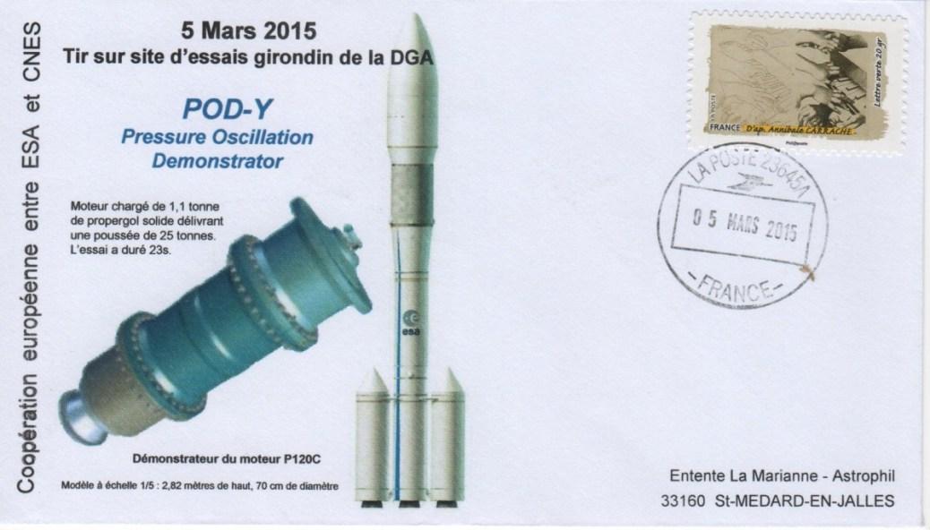 DD019 - Développement Ariane 6 - 05 Mars 2015 Essai POD-Y