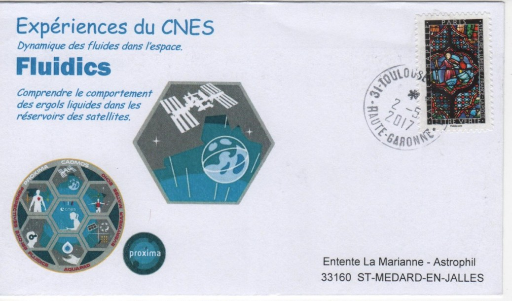 DE005 5 - Spatial - 02 Mai 2017 - Mission Proxima expérience Fluidics