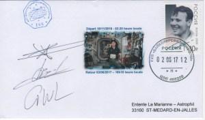 DE005 7 - Spatial - 18 Novembre 2016 / 02 Juin 2017 - ISS Mission Proxima