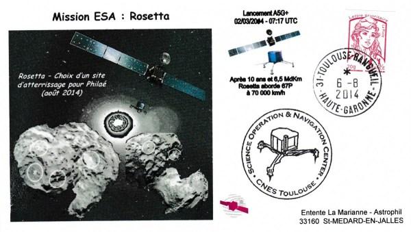 Rosetta 20140806 - Vol 158 - 06 Aout 2014 - Mise en orbite de Rosetta autour de la Comète