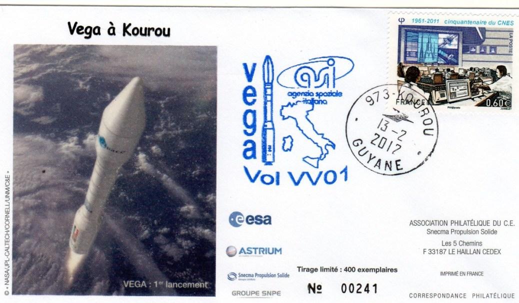 V001 - Vega - Vol VV01 du 13 Février 2012