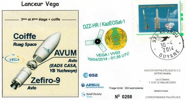 V003 - Vega - Vol VV03 du 29 Avril 2014
