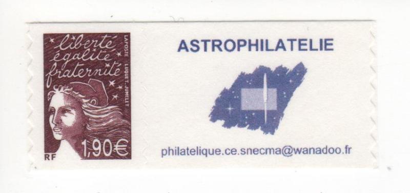 DT003 2 - Document - Timbre personnalisé - Astrophilatélie