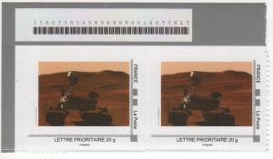 DT006 - Document - Timbre à Moi - Rover Mars Curiosity prise de commande FIMOC