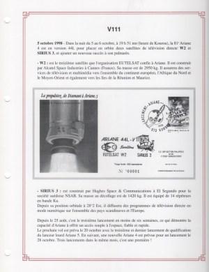 FA004 - Fiches Album - Vol 111 à Vol 140 - (37 Fiches) - Tome 3 -