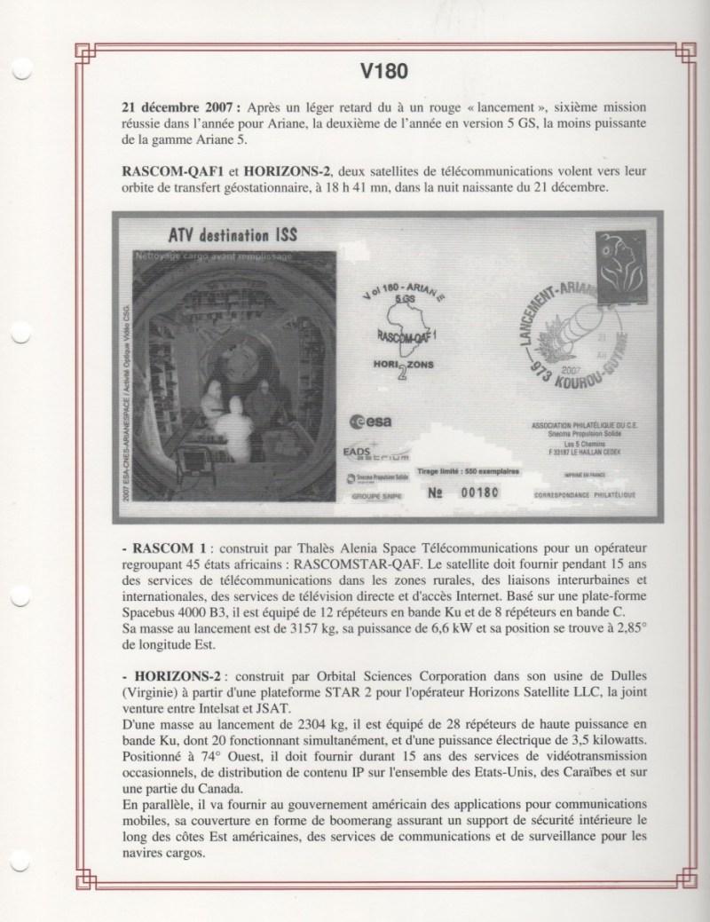 FA008 - Fiches Album - Vol 180 à Vol 192 - (18 Fiches) - Tome 3  A5