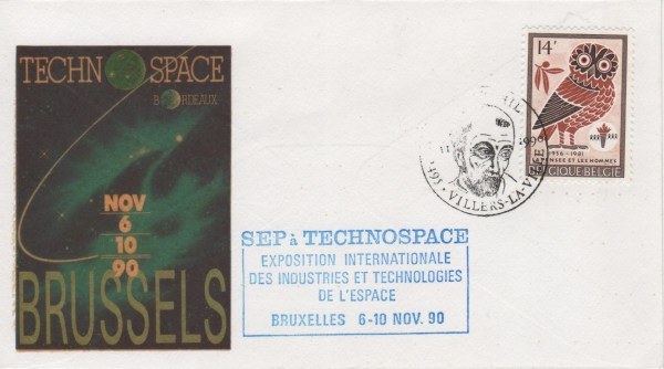 014 - Divers : Salon Technospace - Bruxelles - 6 au 10 Novembre 1990