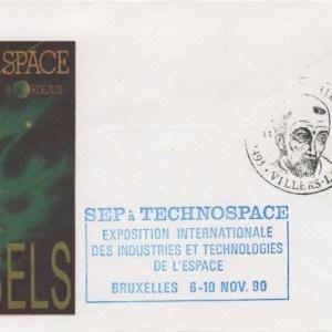 014 - Divers : Salon Technospace - Bruxelles - 6 au 10 Novembre 1990