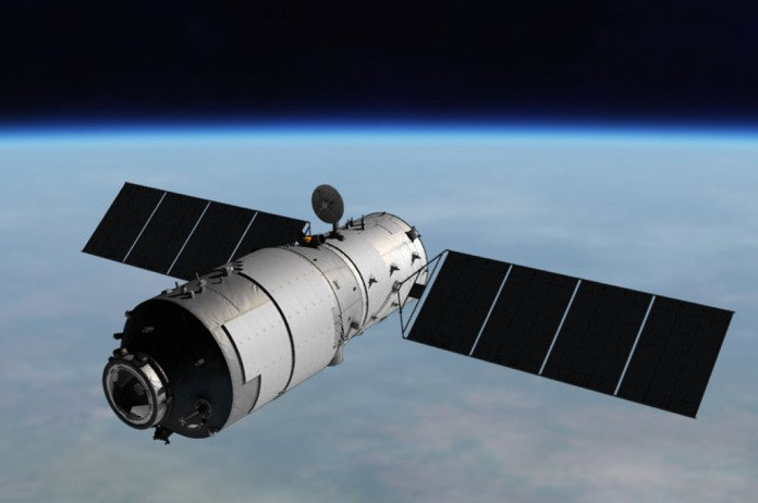 Tiangong1 - Fin de la station spatiale Tiangong-1 le 2 avril 2018