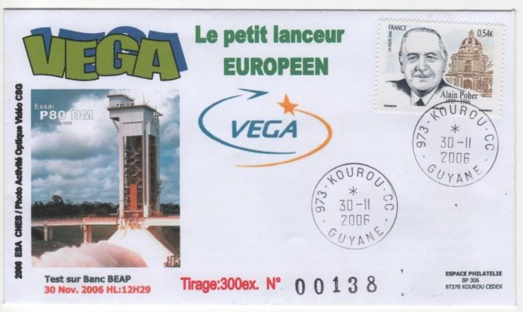 001 - VEGA - Validation étage P80 par démonstrateur DM-1 au BEAP de Kourou - 30 Novembre 2006