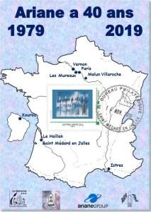 40 ans Carte 213x300 - Ariane a 40 ans