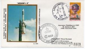 img20191125 15263552 - Kourou (Guyane) Lancement Ariane 1 – Tir L6 – 16 Juin 1983 (Pochette CNES Complète)