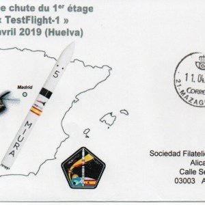 img20200212 19312371 - Lanceur Réutilisable MIURA - Test chute 1er étage 11 Avril 2019 Huelva (Espagne)