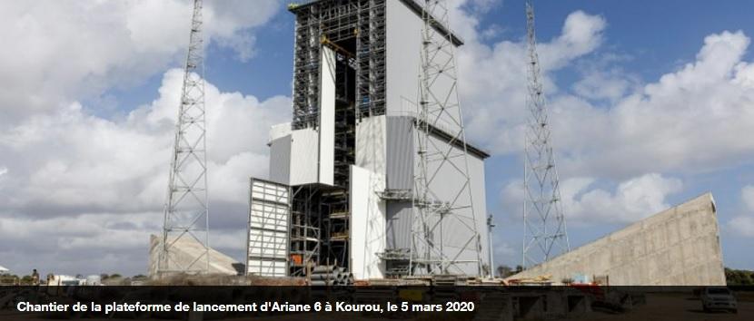 kou - Le chantier d'Ariane 6 en Guyane devrait redémarrer à la mi-mai 2020