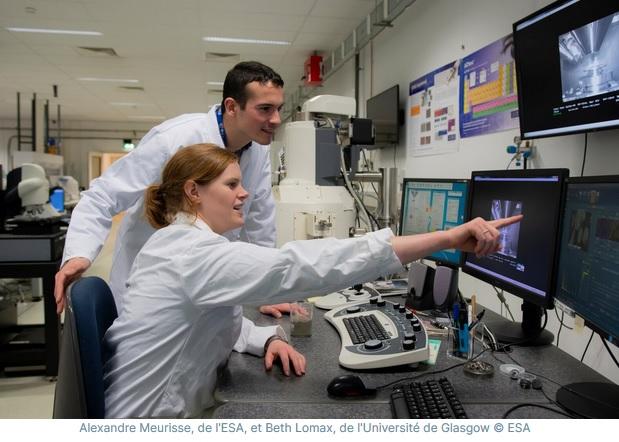 b1 - L'ESA travaille sur une usine capable de transformer la poussière de Lune en oxygène