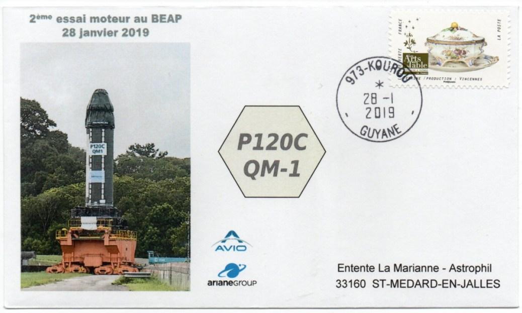 img20201011 13215859 - Ariane 6 - Vega C - 2ème Essai Moteur P120C - 28 Janvier 2019