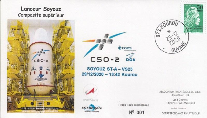 VS25 - Lancement Soyouz ST-A - VS25 le 29 Décembre 2020 - 13h42 Kourou